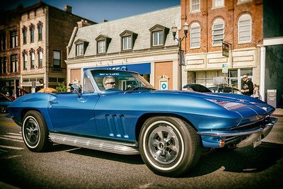 Photographed during the 21st Blast of the Past Car Show in downtown Delaware, Ohio on July 26, 2014.